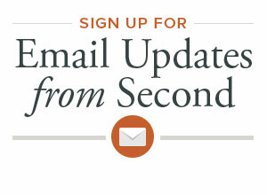 Sign Up for Email Updates from Second