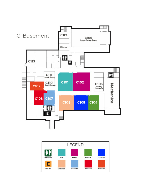 Second Presbyterian Church | Sunday School Map